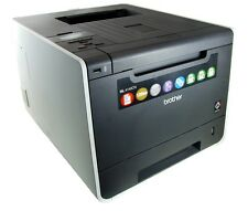 Brother HL-4140CN Farb Laser Drucker Color LAN Printer USB incl. Toner 20388 S.