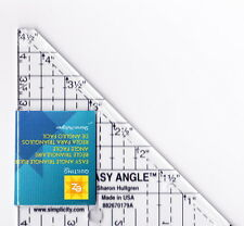 "Easy Angle 4.5"" ruler for cutting half square triangle"
