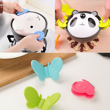 Home Kitchen Gadget Non-slip Silicone Insulation Against Hot Bowl Clip Tool