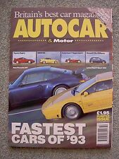 Autocar (15/22 Dec 1993) Esprit, 911, Caterham, Omega, BMW 325, Supra, Golf, M3