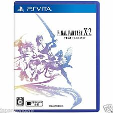 Used PS Vita Final Fantasy X-2 HD Remaster SONY PLAYSTATION JAPANESE IMPORT