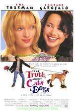 TRUTH ABOUT CATS AND DOGS MOVIE POSTER +2 M UMA THURMAN