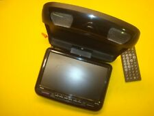 "BOSS 9"" FLIP DOWN MONITOR SCREEN DVD CD PLAYER USB W/ REMOTE"