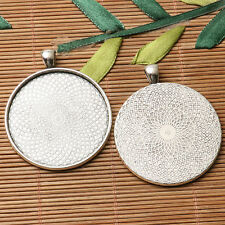 Single-sided  Round  TEXTURED cabochon setting  design for multi- sizes to PICK