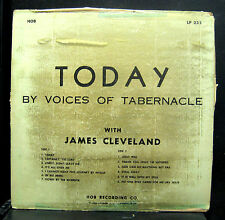 James Cleveland The Voices Of Tabernacle Today LP VG- LP-235 Mono 1959 HOB GOLD