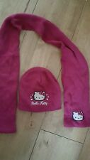 hello kitty hat and scalf 110-116cms