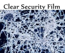 """4 Mil Security Window Clear Film 30"""" x 5' feet Roll , Home , Office"""