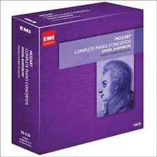 DANIEL BARENBOIM - MOZART: COMPLETE PIANO CONCERTOS - 10 CD SET