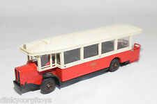 SOLIDO 4401 AUTOBUS RENAULT TN6C 1934 RED CREAM EXCELLENT CONDITION