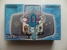 NINTENDO GAME BOY ADVANCE -  SUICUNE BLUE POKEMON CENTER BOXED
