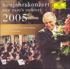 New Year's Concert 2005 2005 by Lorin Maazel; Vie Ex-library - Disc Only No Case