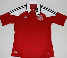 2012-2013 DENMARK HUMMEL HOME FOOTBALL SHIRT (SIZE M)