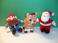 RUDOLPH THE RED NOSED REINDEER -  LOT OF 3 - VGC