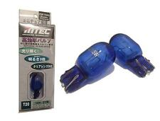 T20 2 pieces Mtec 21w / 5w Lights Position Daylight Lamps  BLUE WHITE T20 XENON