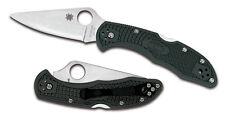 """Spyderco Delica 4 C11PGRE Knife, 2.87"""" ZDP-189 Blade, Green - Authorized Dealer"""