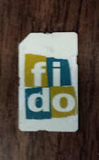 USED FIDO HSPA GSM CELL PHONE TESTING SIM CARD GOOD TO ACCESS IPHONE OPTION TEST