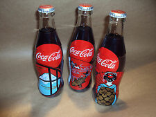 COCA COLA - COKE - 3 X BOTTLE SET 500ML -  LIMITED EDITION - JAPANESE RARE JAPAN
