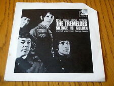 "THE TREMELOES - SILENCE IS GOLDEN     7"" VINYL PS"