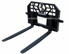 NEW HD 5000# PALLET FORKS & FRAME ATTACHMENT Skid-Steer Track Loader Kubota Case