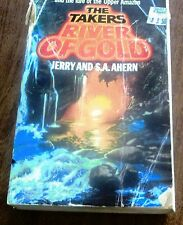 The Takers River of Gold by S. A. Ahern and Jerry Ahern (1985, Paperback)