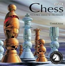 Chess Paperback book & game: From First Moves to Checkmate by King, Daniel, Good