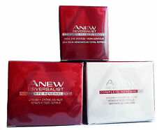 Avon Anew Reversalist Regime Set Day, Night & Eye Cream Full Size Free Post