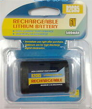 Quality Rechargeable 2CR5 2CR DL245 EL2CR5 battery 6V 500mah Powersmart lithiu