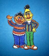 Bert & Ernie Sesame Street Iron On Hat Jacket Hoodie Backpack Shirt Patch Crest