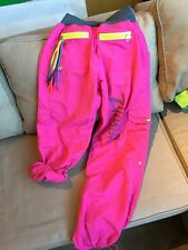 Zumba Fitness Women's Roll Up Pants/capris Pink ~ Medium ~ AWESOME!