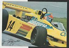 EMERSON FITTIPALDI HAND SIGNED ORIGINAL PHOTO POSTCARD COPERSUCAR TEAM CARD