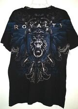 XZAVIER tee shirt DIVINE ROYALTY Men size Large. Black, Blue, White & Silver.