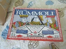 Brand NEW Sealed Canada Games DELUXE RUMMOLI Card Poker Chips Rummy Board 1993