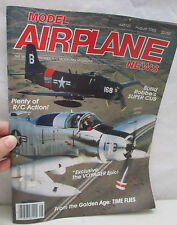Model Airplane News Magazine August 1985 Voyager Build Robbe's Super Cub R/C