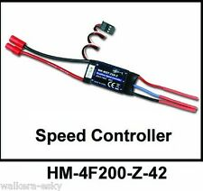 Walkera HM-4F200-Z-42 Brushless ESC(WK-WST-20A-2) for V200D02 & 4F200 -US