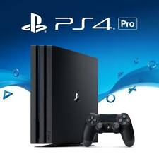 Sony Playstation PS4 Pro ★ 1TB ★Jet Black ★ Imported ★4K Gaming ★HDR Technology★