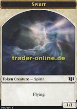 2x Token Spirit (Spielstein Geist) Commander 2014 Magic