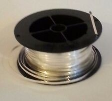 .999 Silver Bezel Wire for Colloidal Silver Generator: 1M/3ft 4in/40in Length.