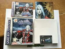 Castlevania Harmony Of Dissonance Game Nintendo Gameboy Advance Boxed Complete