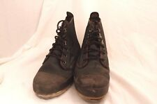 Remington Steel Shank Fishing Boots Size 12M Pre-Owned Free Shipping