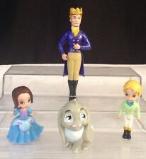 Disney Sophia Sofia the First Princess Doll Figures PVC Cake Toppers