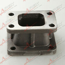 TURBO CHARGER TURBOCHARGER MANIFOLD FLANGE ADAPTER T3 TO T4 CONVERSION CAST