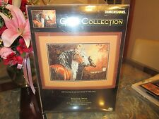 EQUINE TRIO Dimensions Horse Gold Collection 35091 Counted Cross Stitch Kit  New