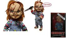 "Child's play 15"" inch mega scale scarred talking chucky doll figure-MEZCO 2015"