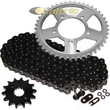 Black O-Ring Drive Chain & Sprockets Kit Fits SUZUKI GSX600F Katana 600 1992-99