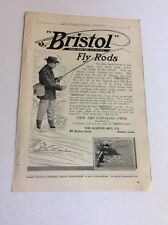 1913 MAGAZINE AD #A3-149 - Bristol Fly Rods
