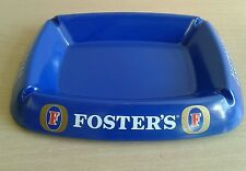 Fosters Ashtray, Foster's, Blue Plastic, Smoking, pub