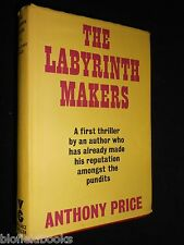 ANTHONY PRICE: The Labyrinth Makers - 1970-1st - Crime Thriller Novel, Gollancz