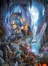 """Dragon Forge 1000 pieces Jigsaw Puzzle NEW Made in USA 19.25"""" x 26.625"""""""