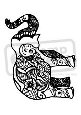 A7 'Indian Elephant' Unmounted Rubber Stamp (SP002852)