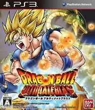 Used PS3 Dragon Ball Z: Ultimate Blast SONY PLAYSTATION 3 JAPAN JAPANESE IMPORT